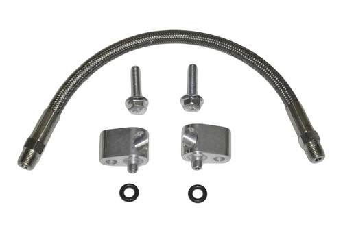 LS Coolant Crossover Steel Steam Vent Kit, Throttle Body Coolant Bypass Hose Kit with Head Steam Port Crossover.  5.3 5.7 6.0 6.2 LS1 LS2 LQ4 LQ9 LS3 L92 L94 L76 L77 LY6 L96