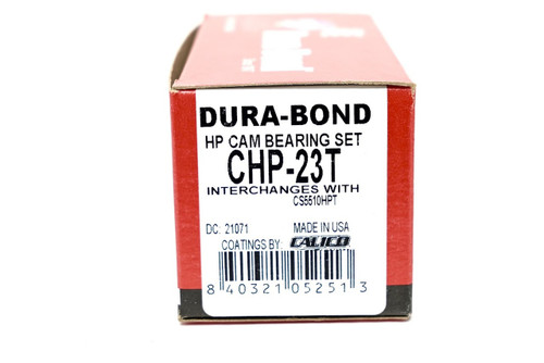 Dura-bond CHP-23T Camshaft bearings for 2003-2009 LS High Performance PTFE Coated