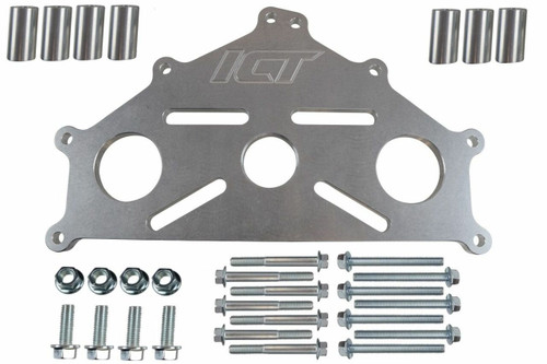 Billet Engine Stand Adapter Plate Chevy LS1 BBC SBC LS Duramax Heavy Duty Support 4.8 5.3 5.7 6.0 6.2 6.6 7.0