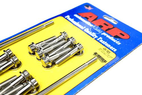 ARP 434-1805 Oil Pan Bolt Kit for GM Gen V LT Engines LT1 LT4 L82 L83 L84 L86 L87 Polished Stainless 12pt
