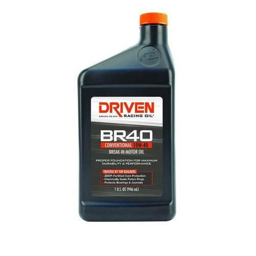 Driven BR40 10W-40 Synthetic Break In Oil with Zinc 03706 - Gen III & IV 4.8 5.3 5.7 6.0 6.2 7.0