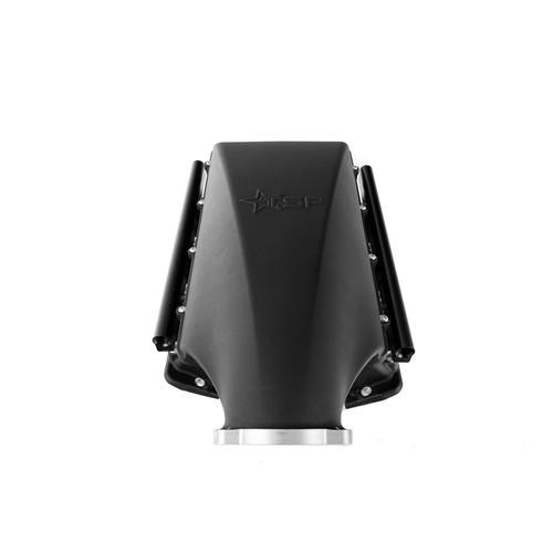 Texas Speed Black Titan SR-3 Short Runner 102mm Cast LS3 Intake Manifold -10an Fuel Rails TSP Rectangle Port L99 L92 L96