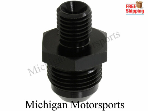 Michigan Motorspots Fuel Pump Inlet Outlet Fittings, crush sleave 10 an Inlet 8 an outlet Fits Bosch 044 pumps