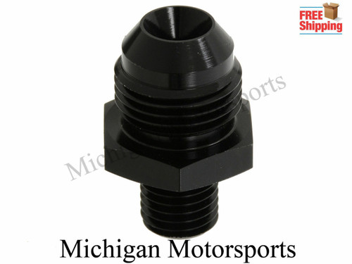 Michgan Motorsports 044 Fuel Pump AN Fittings (8AN In & Out) Fits Bosch Fuel Pumps