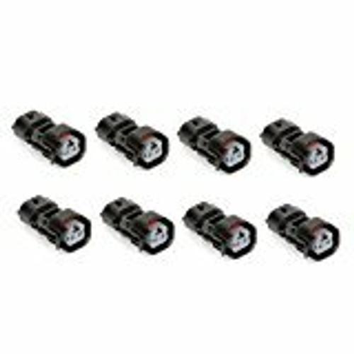 Denso To EV6 EV14 Fuel Injector Adapter Connector Subaru Mazda Accura