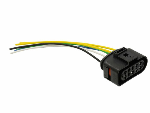Headlight Lamp Pigtail Connector 2001 to 2005 VW Passat head light
