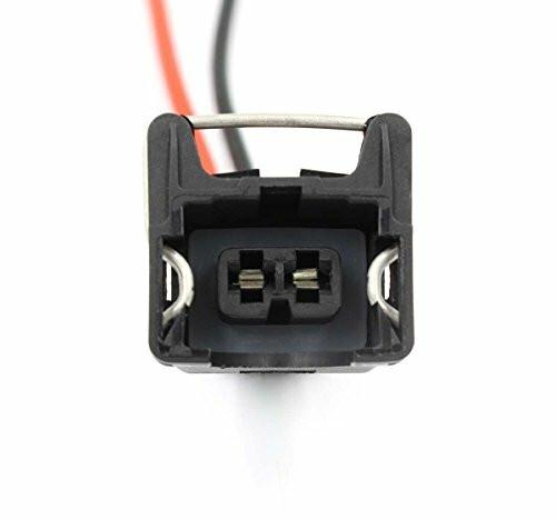 Fuel Injector OBD1 Connector Plug EV1 Pigtail Wiring Clip TPI LT1