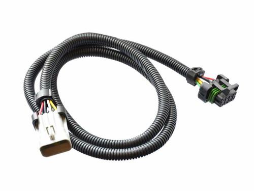 "NTK L2H2 wideband O2 Oxygen Sensor Extension 48"" Fits Holley 554-100 534-199"