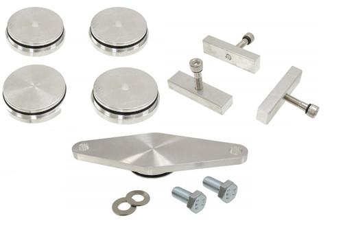 Cummins Freeze Plug kit for 1988-2002 Dodge Turbo Diesel. 5.9L 2500 3500 Truck Without Middle Hole