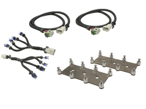 D581 LQ4 LM7 Truck Square Coil Relocation Bracket and Harness Kit - Stainless Steel