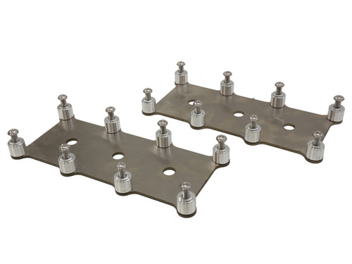 D581 LQ4 LM7 Truck Square Coil Relocation Bracket -Stainless Steel