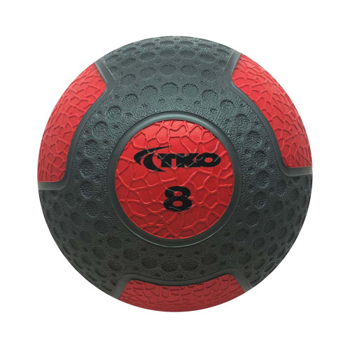 Commercial Rubberized Medicine Ball 8lb