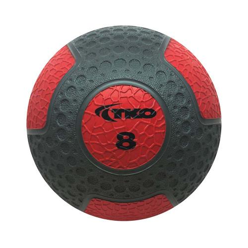 Commercial Rubberized Medicine Ball 8lb
