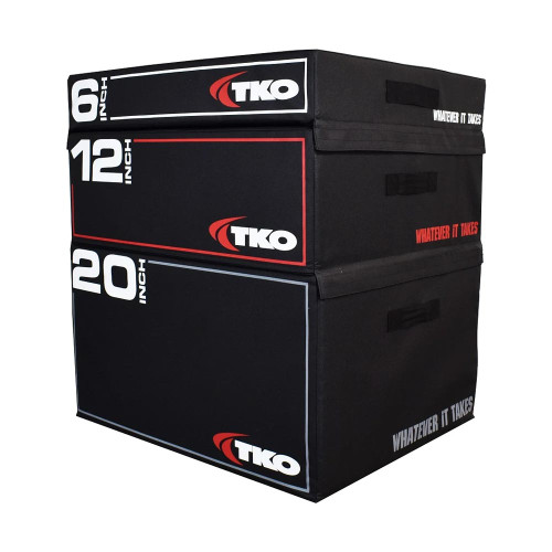 Stackable Foam Plyo Boxes