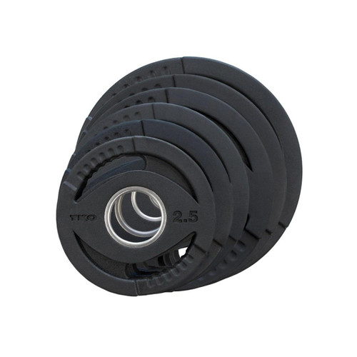 TKO Olympic Rubber Grip Plate