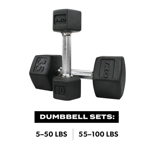 TRI Grip® Hex Dumbell Set