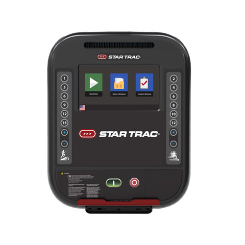 "Star Trac 4 Series 10"" Touchscreen Cardio Console"