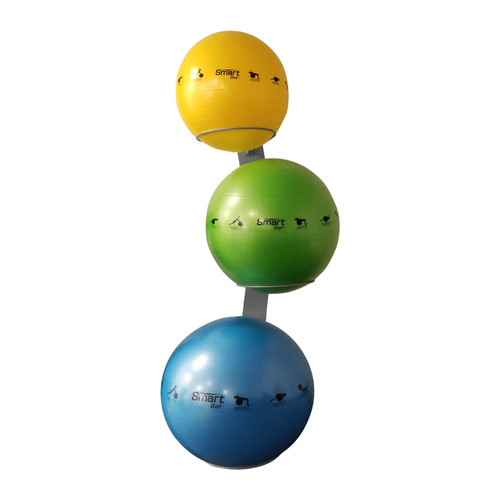 Smart Stability Ball Rack, Wall Mounted Commercial Package