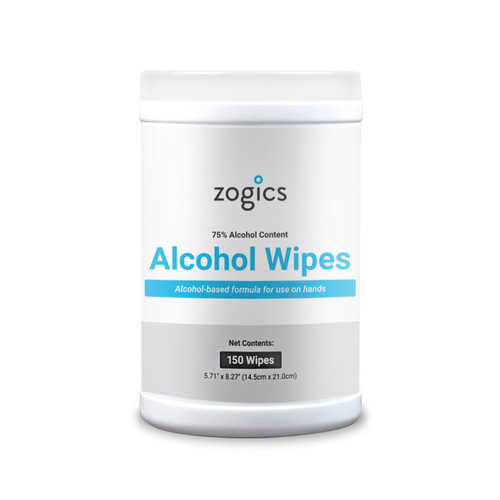 75% Alcohol Surface Disinfecting Wipes Tub, (150 wipes/tub), (12 tubs/case)
