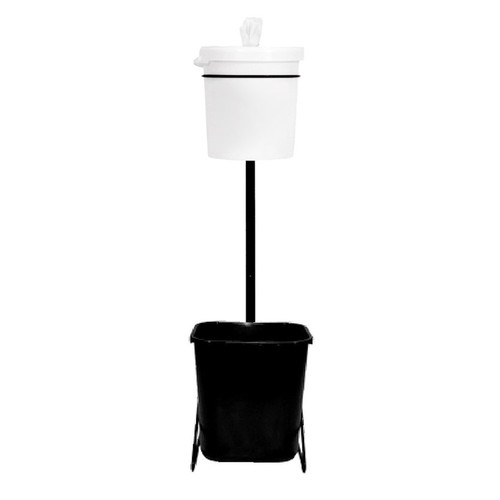 Gym Wipes Bucket Stand