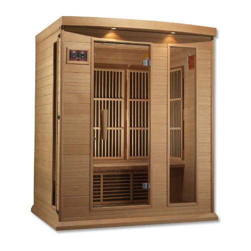 Maxxus Low EMF FAR Infrared Sauna, 3-Person