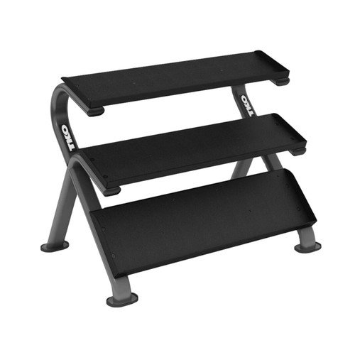 3-Tier Horizontal Dumbbell Rack