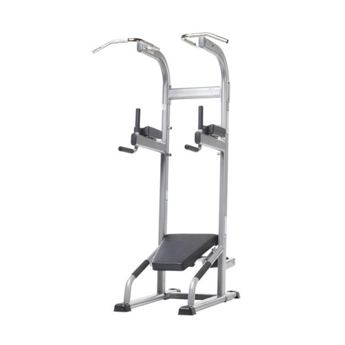 Evolution VKR/ Chin/ Dip/ Ab Crunch/ Push-Up Training Tower