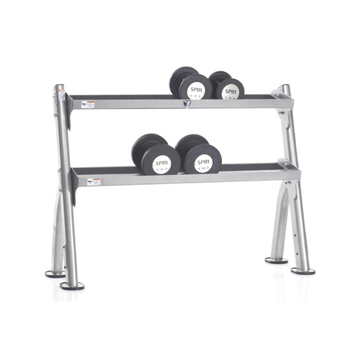 Evolution 2-Tier Tray Dumbbell/ Kettlebell Rack