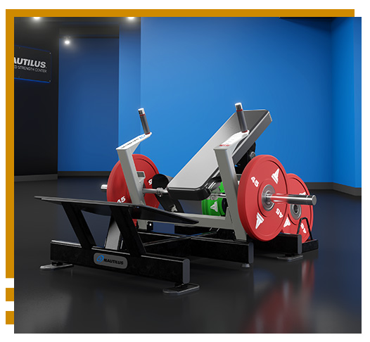 Nautilus Plate Loaded Strength Equipment - Glute Drive