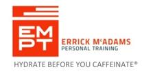 Errick McAdams Personal Training Logo