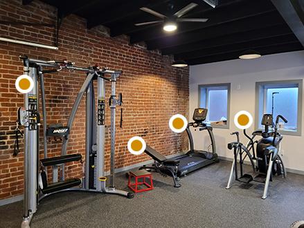 Errick McAdams Training Space, Strength and Cardio