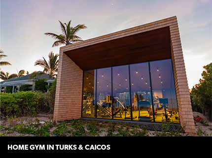 Home gym in turks & caicos image
