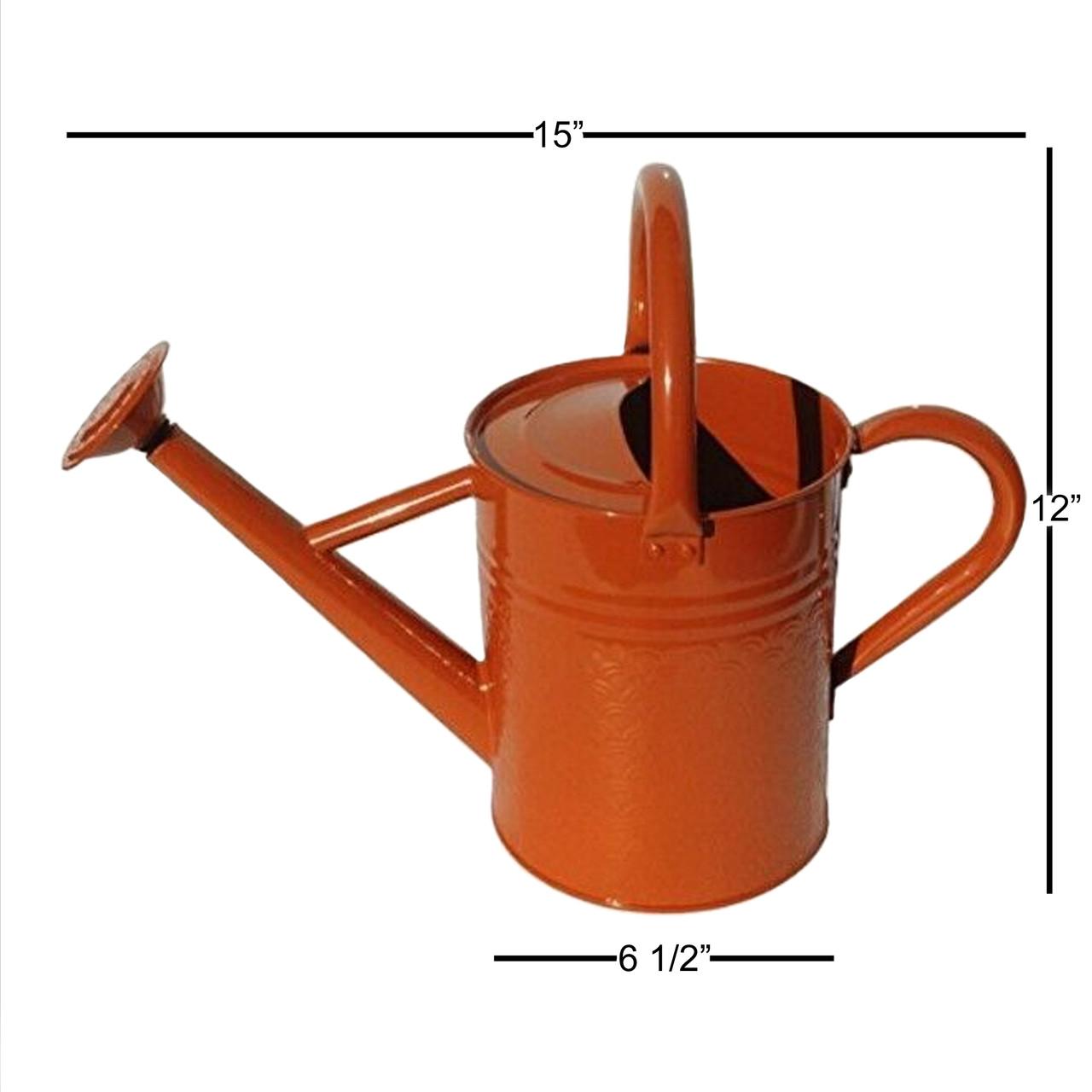 Gardener Select 4L Watering Can #W8105ORA Burnt Orange- 1.06 Gallon