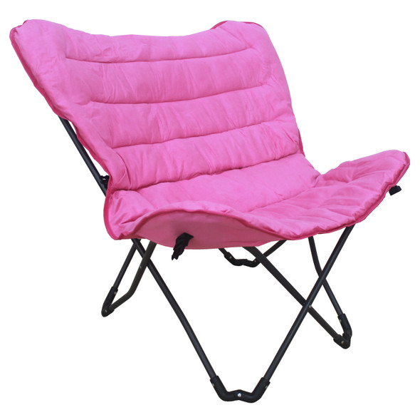 Zenithen Limited Pink Butterfly Folding Chair ƒ?? Great Bedrooms, Rec-rooms, etc.