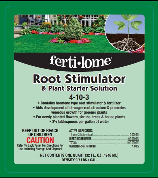 VPG Fertilome 10645 Root Stimulator and Plant Starter Solution, 32-Ounce