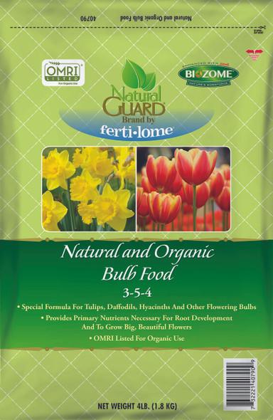 Fertilome Natural Guard Natural and Organic Bulb Food 3-5-4, 4lbs