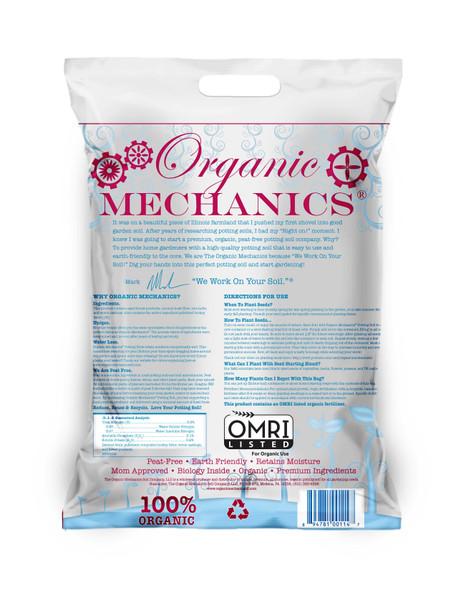 Organic Mechanics, Seed Starting Blend Potting Soil- 16 Quart
