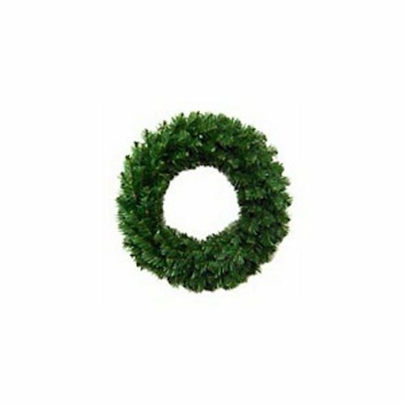 """General foam plastics ts-w24600 Mountain King, 24"""" Green, Unlit Artif. Wreath"""