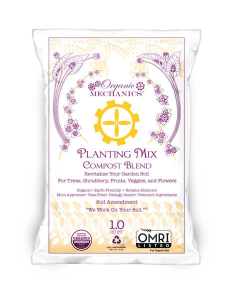 Organic Mechanics, Planting Mix Compost Blend- 1 CU FT