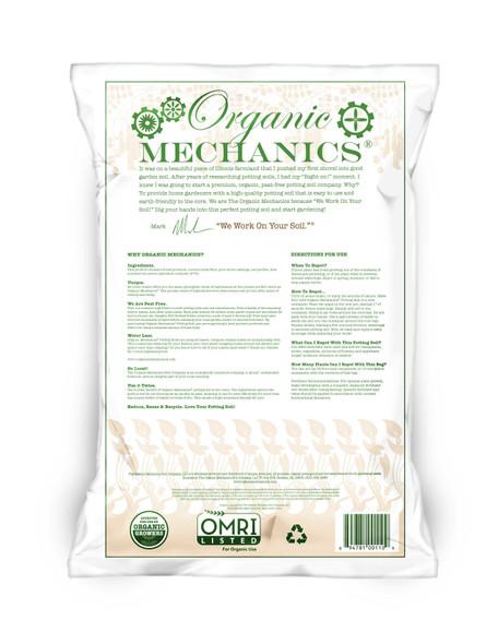 Organic Mechanics, Premium Blend Potting Soil- 1 CU FT