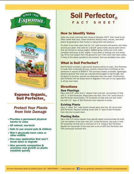 Espoma ESPSPF30 All-Natural Soil Perfector, 30 pound bag