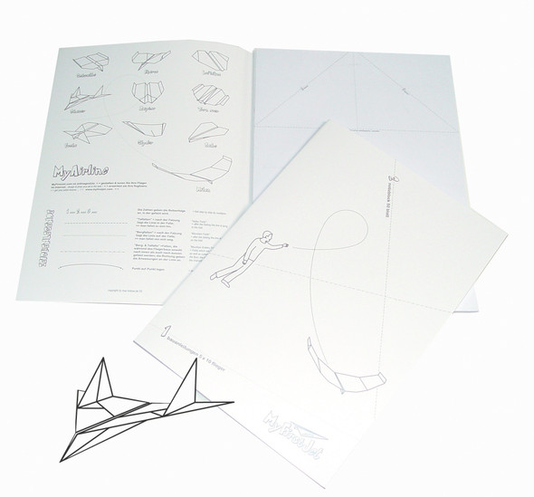 XXD Paper Airplane Instruction Leaflet & Craft Book (Double Pack- pu 30 pcs.)