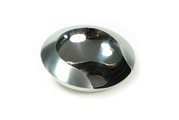 XXD's (#T-666) Cascara Stainless Steel Mini Silver Pouring Bowl