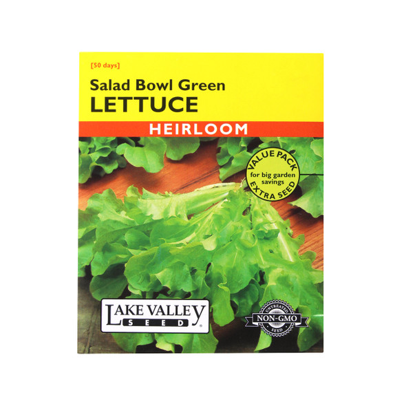Lake Valley Seed: Lettuce Salad Bowl