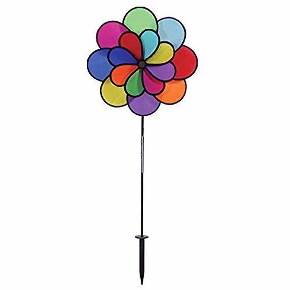 """Gardener's Select GSA18 Double Pin Wheel, 18 by 28"""", Multicolor"""