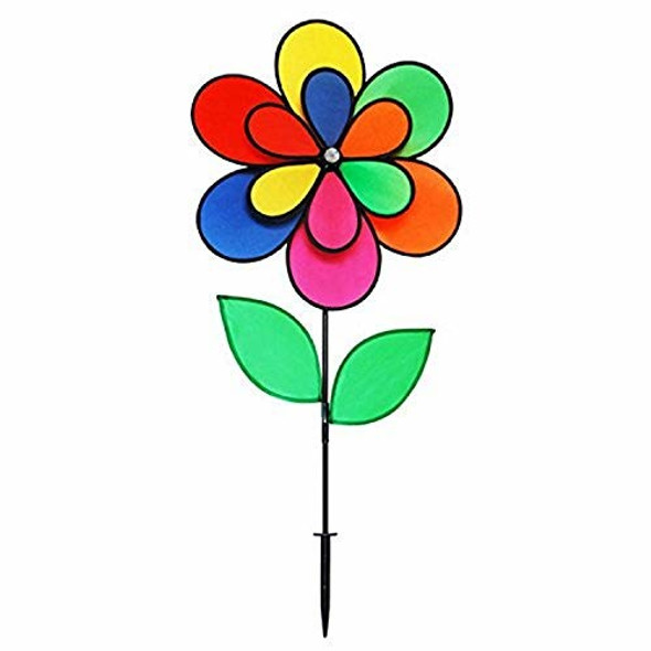 """Gardener's Select (GSA29) 12 Petal Pin Wheel with 2 Leaves, 18 by 28"""""""