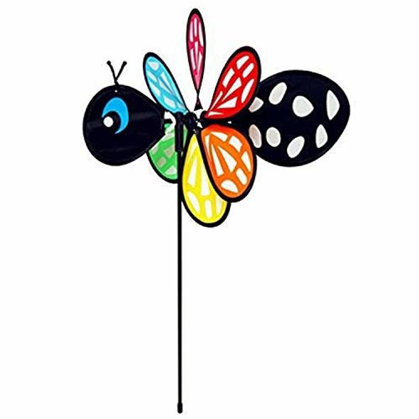 "Gardener's Select GSA70 Black Bee Pin Wheel, 11 by 16"""