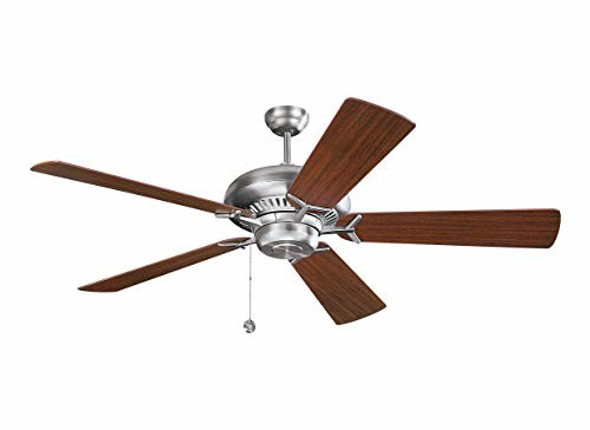 Monte Carlo Grand Prix 60-Inch 5-Blade Ceiling Fan with Mahogany Blades