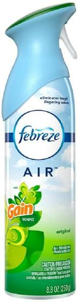 Febreze 96252 Odor-Eliminating Air Freshener with Gain Original Scent, 8.8 fl oz