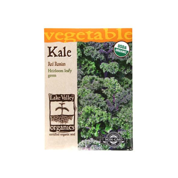 Kale Organic Red Winter Seeds